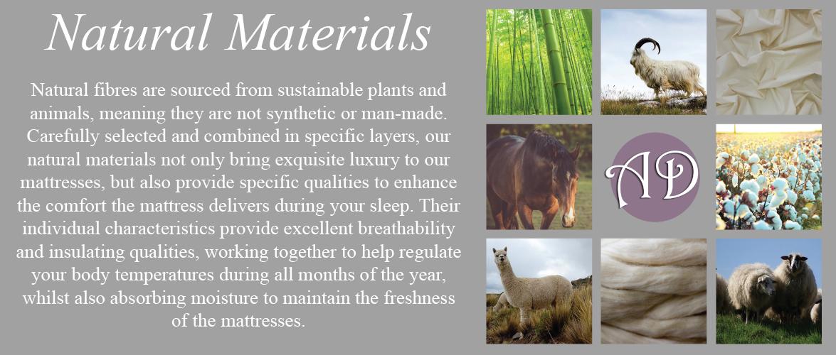 Natural Materials for Mattresses